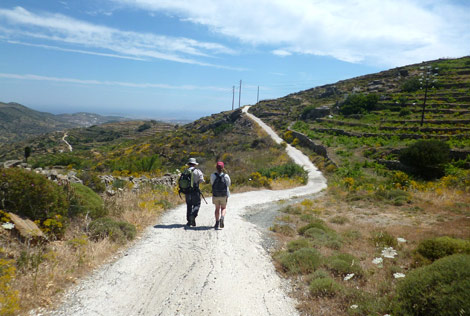 HIKING TOURISM – SIFNOS TRAILS